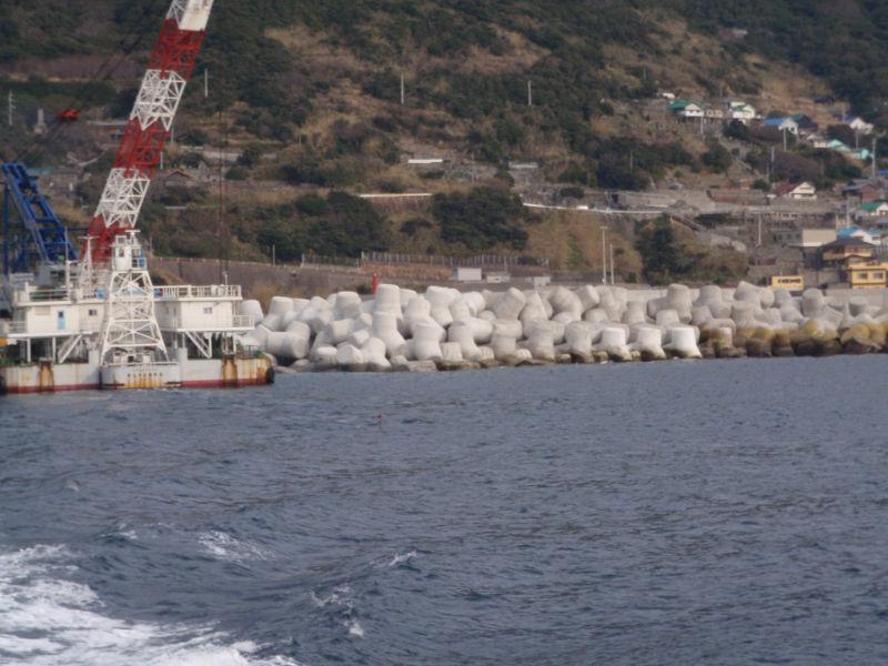沖の島漁港(弘瀬)広域水産物供給基盤整備工事