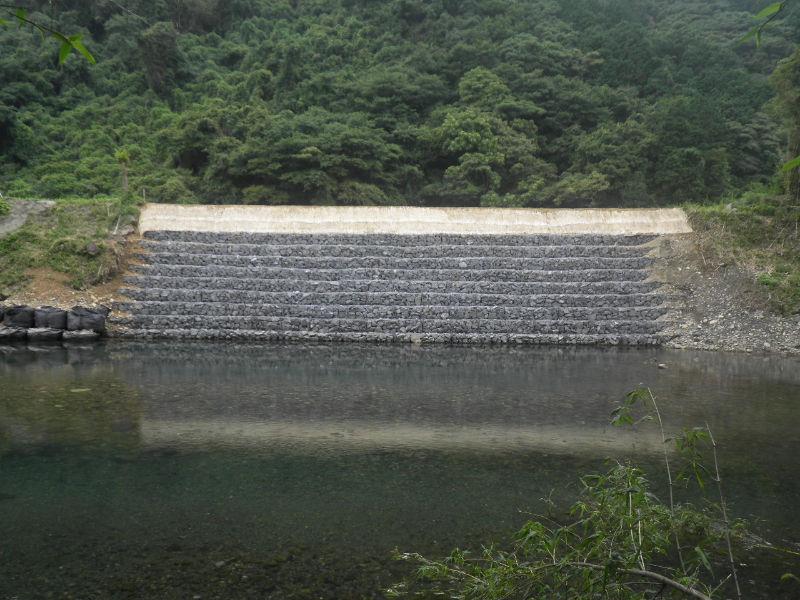 篠川 河川災害復旧工事